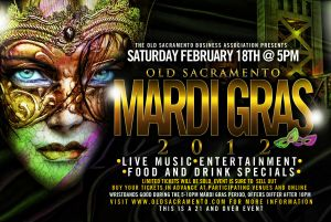 Mardi Gras in Old Sacramento